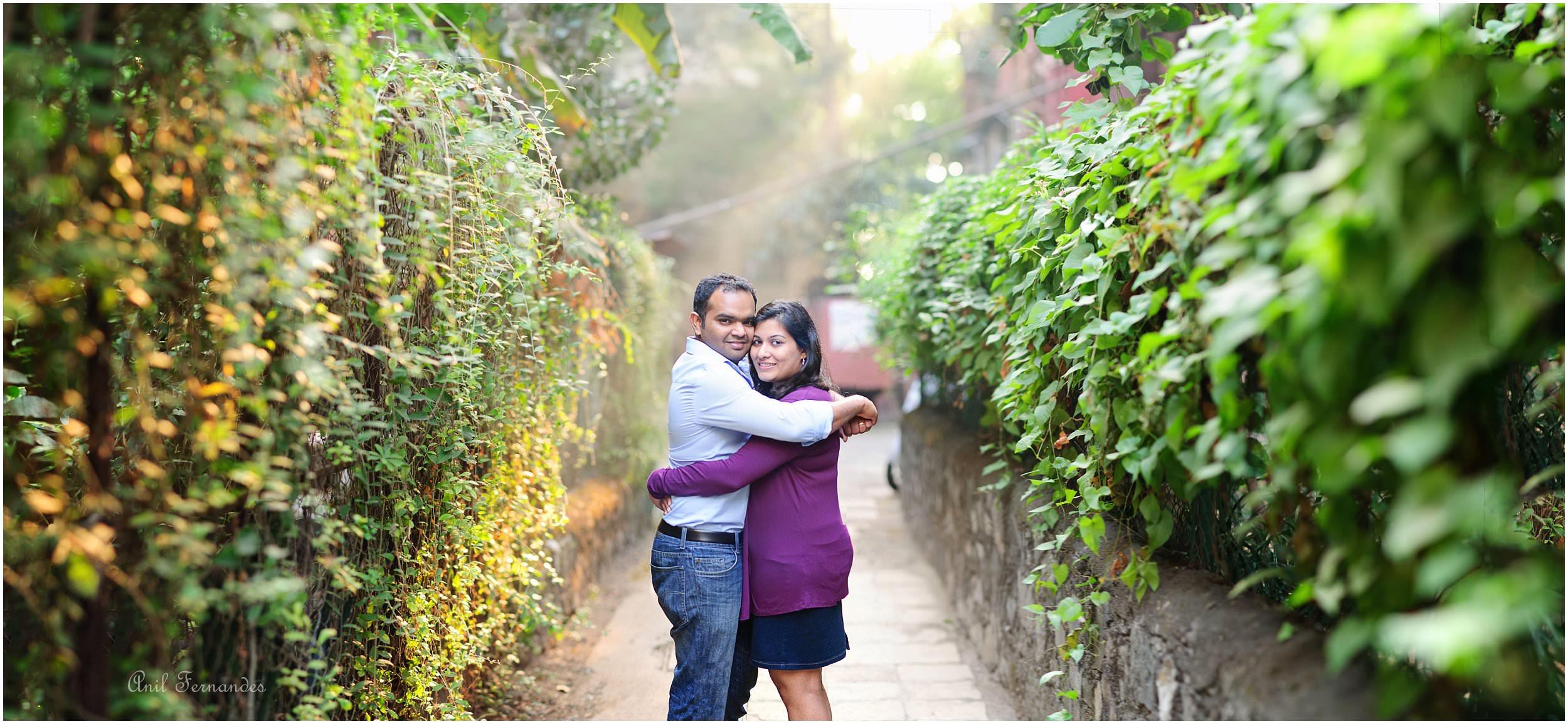 Post wedding couple photo Mumbai a